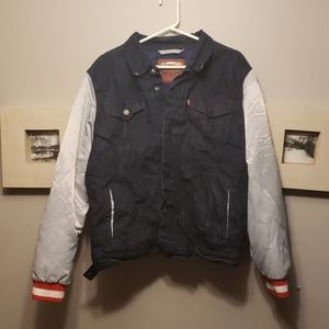 Levi Strauss NFL New England Patriot Denim jacket